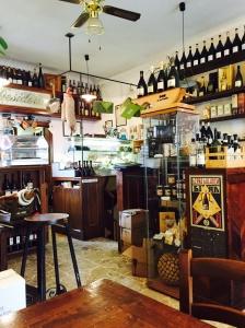 Inside Caffe Desiderio