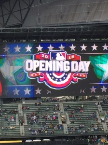 Mariners Opening Day