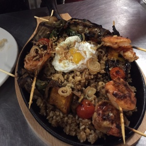 Grilled Pinakbet & Bagoong Fried Rice